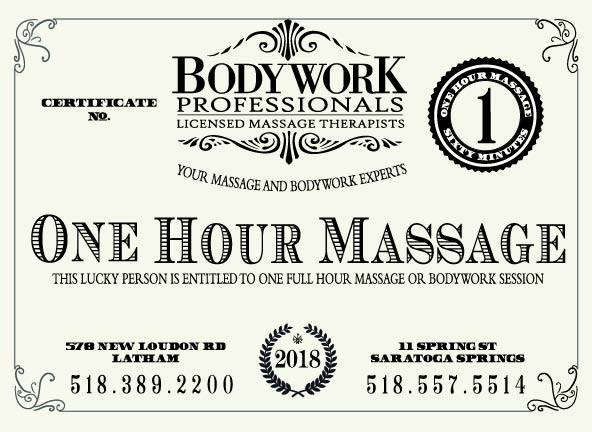 gift certificates for print massage albany ny bodywork professionals