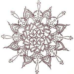 """Corona Mandala #3 """"HeartOfIt"""""""
